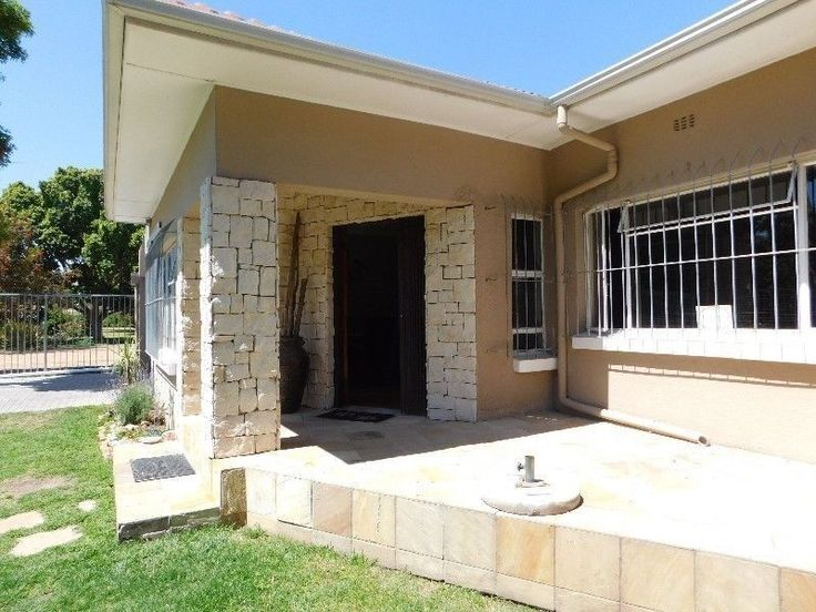 Do not miss out on this hot property,500 meters from Excelsior Primary School.1 km from Bellville High School, 2 km from HTS Bellville, it is newly modernized with a beautiful kitchen and laundry, with a huge open living space and also a braai room /man cave. With a double garage Attached to the main house is a a two room flat let with a open living area, kitchen and bathroom, with separate entrance and double garage, to rent out and generate a income.Located on a corner plotMAIN HOUSEFoyer…