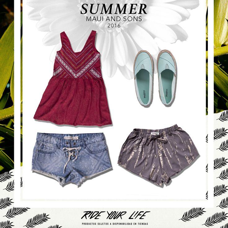 #MauiAndSonsWoman #Summer2016