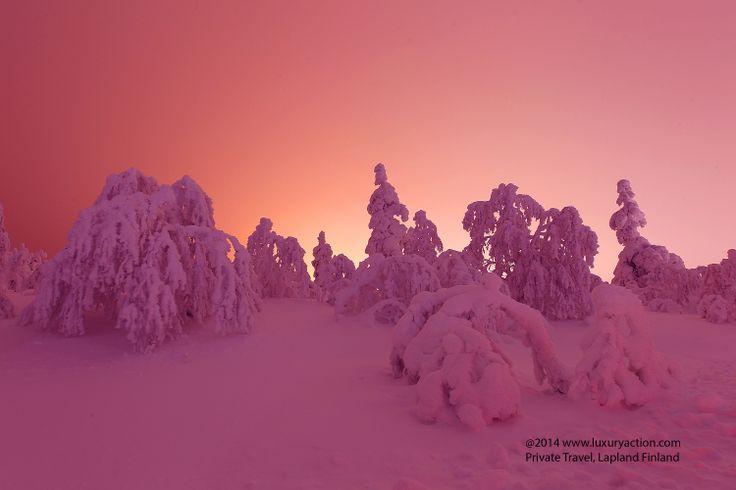 Creating romantic& memorable #ValentinesDay... #Lapland #Finland copyright... picture taken 2/2014 #LuxuryAction