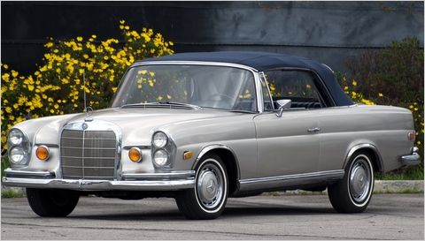Most underrated Mercedes- 1969 covertible