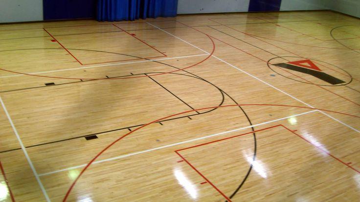 Gym Flooring Wooden