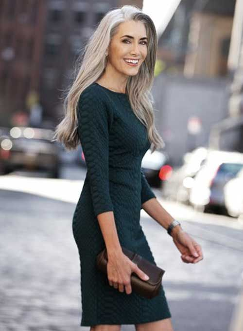 hair style in 1000 ideas about gray hair on 7643