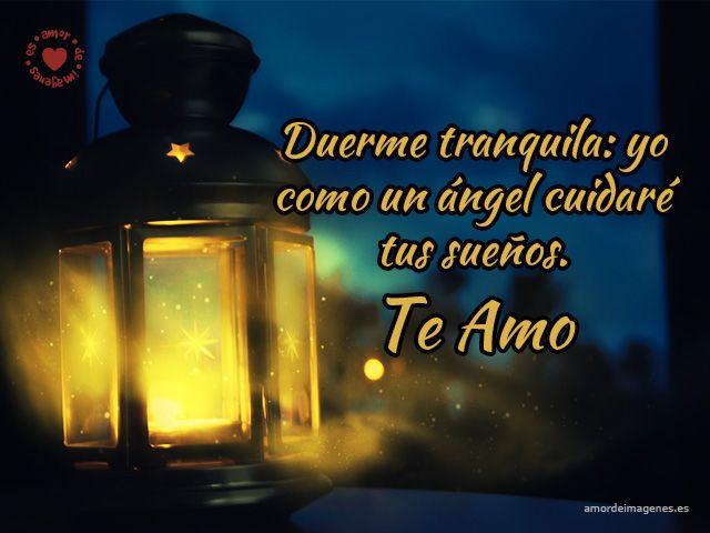 Imagen de lámpara iluminada frases de buenas noches