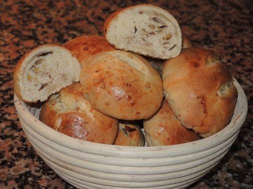 Brioche con pasas y nueces para #Mycook http://www.mycook.es/receta/brioche-con-pasas-y-nueces/