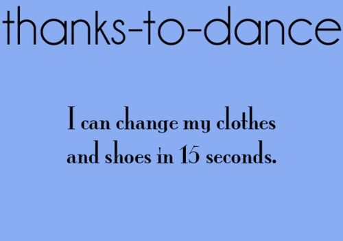 thanks to dance sayings - Google Search