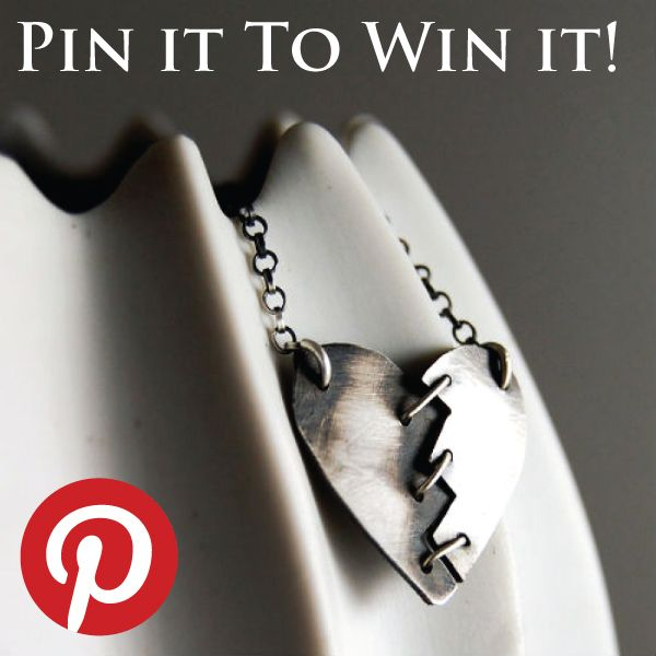 """Handmade jewelry by #markheddesign , you can win it by pinning-it by participating in the contest here: http://blog.markheddesign.com/?p=211 #jewelry #handmade #contest #silver"