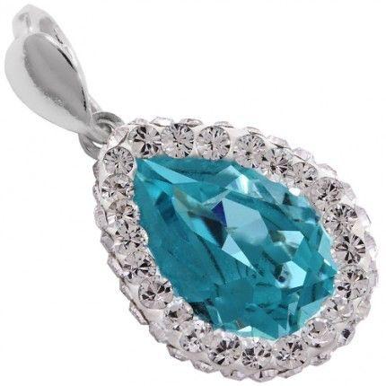 pandant de lux http://www.bijuteriifrumoase.ro/cumpara/pandant-frame-crystallized-pear-f-14-3168