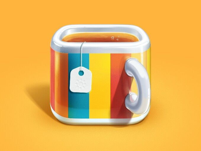 Mug iOS Icon - by M18 | #ui #ios