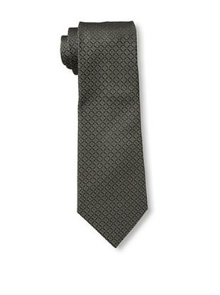 61% OFF Valentino Men's Circles Tie, Charcoal/Brown