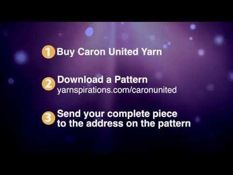 Caron United Helping Military Children - The Crochet Crowd