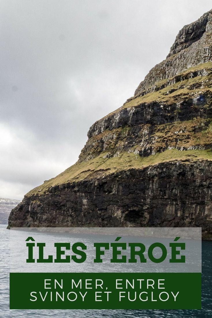 Embarquement immédiat pour les îles du nord des Féroe : blade à Klaksvik, et navigation en ferry vers les îles de Svinoy et Fugloy, parmi les plus isolées de l'archipel.