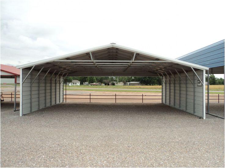 Simple 10x20 Portable Garage in 2020 Aluminum carport