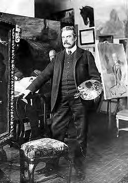 ALBERT GUSTAF ARISTIDES EDELFELT (1854-1905) - Albert Edelfelt kuoli 18. elokuuta 1905 Porvoon lähellä Haikossa, jossa hänellä oli myös ateljee. Kansalaiskeräys tuotti varoja,joilla koottiin Albert Edelfelt -huone Porvoon museoon.Museolla on edelleen Suomen laajin Edelfeltin teosten kokoelma.Albert Edelfeltiä on kunnioitettu myös nimeämällä hänen mukaansa esimerkiksi katuja ja teitä muun muassa Espoossa,Helsingissä,Kotkassa ja Porvoossa.