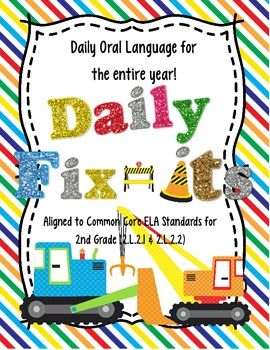 Daily Fix It Pack (Daily Oral Language for the Entire Year!) $6