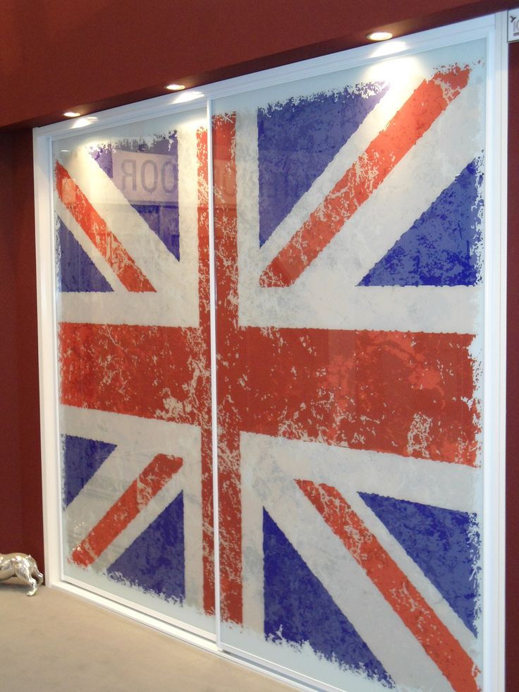 Union Jack Bedroom Sliding Doors