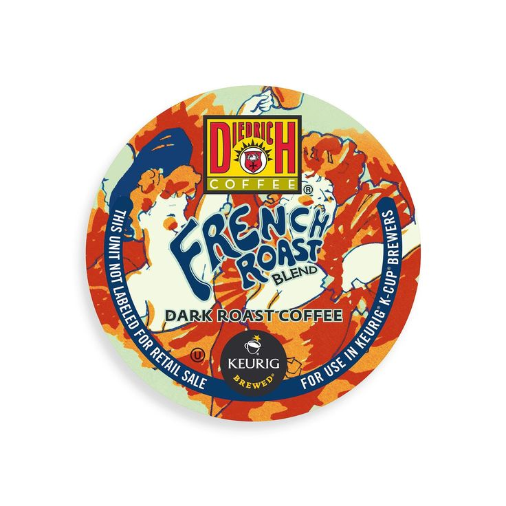 New Brand Diedrich French Roast Blend Coffee (Brown) K-Cup Portion Pack (24 count)
