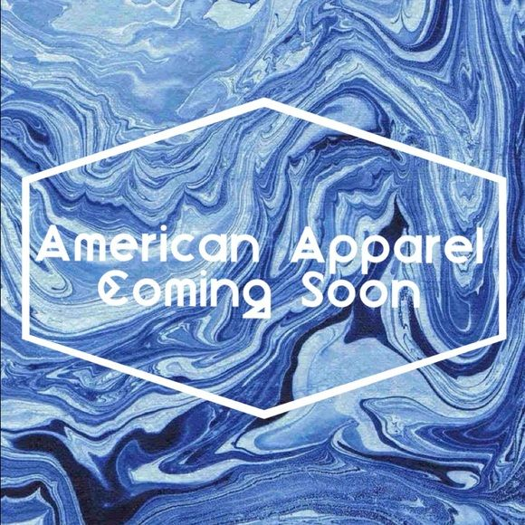 American Apparel Merchandise Coming Soon!! As soon as tonight there will be some amazing gently/never worn American Apparel clothing. Stay tuned, I'll be open to reasonable offers. American Apparel Jeans