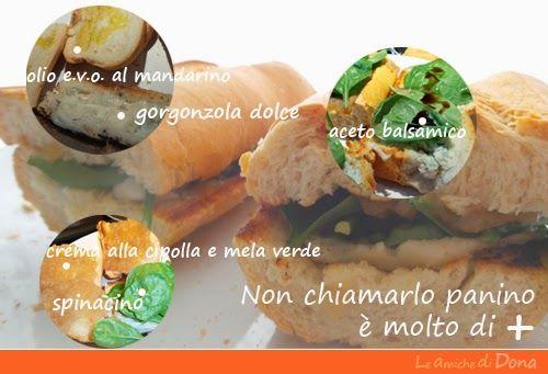 Le amiche di Dona - Appunti di cucina: #Panini con crema di peperoni cipolla e mele verde...