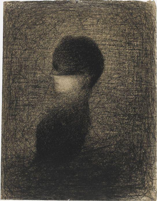 Georges Seurat, La voilette, vers 1883, Paris, musée d'Orsay © RMN-Grand Palais (musée d'Orsay) / Thierry Le Mage