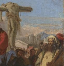 Giovanni Domenico Tiepolo | The Lamentation at the Foot of the Cross | NG1333 | National Gallery, London