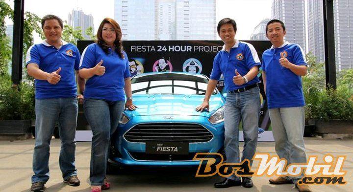 "Ford Indonesia Gelar Kampanye Pra-Peluncuran New Ford Fiesta ""Fiesta 24-Hour Project"""
