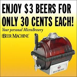 """Check out the """"Beer Machine"""". We just added the Beer Machine to our Virtual Mall Website. Man-Cave IdeasMore At FOSTERGINGER @ Pinterest"""