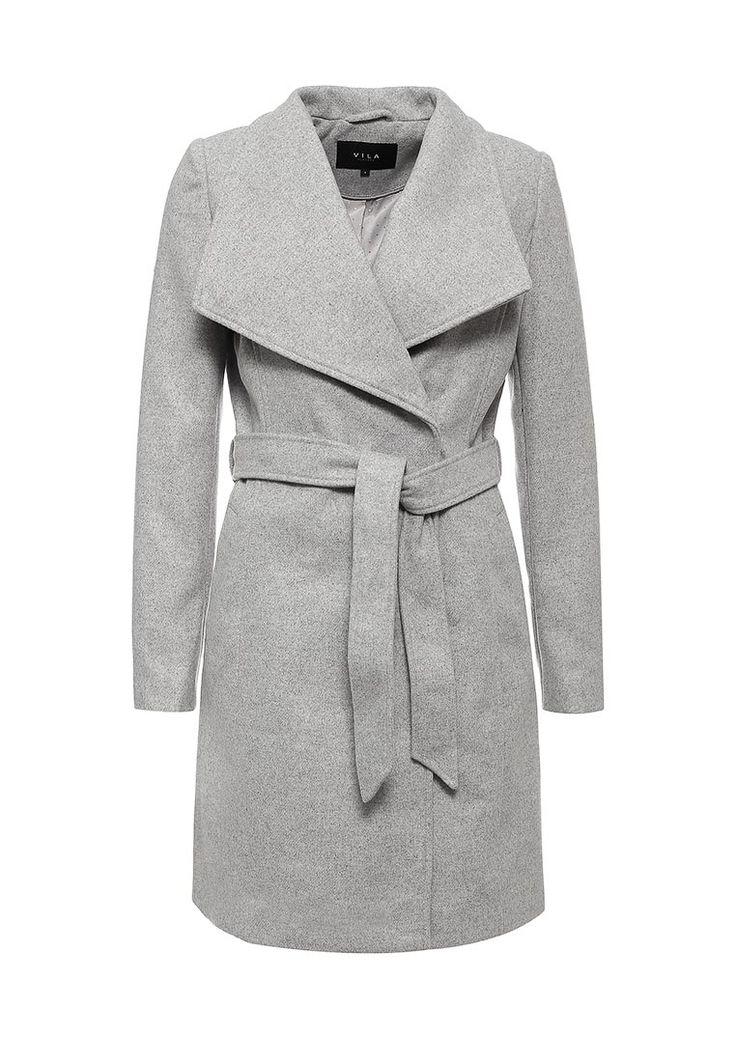 Пальто Vila купить за 5 190 руб VI004EWKFP78 в интернет-магазине Lamoda.ru