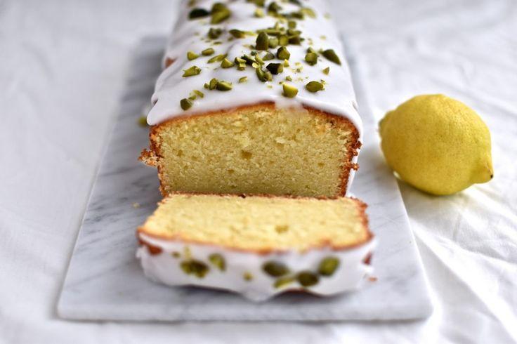 Citron ricotta kage