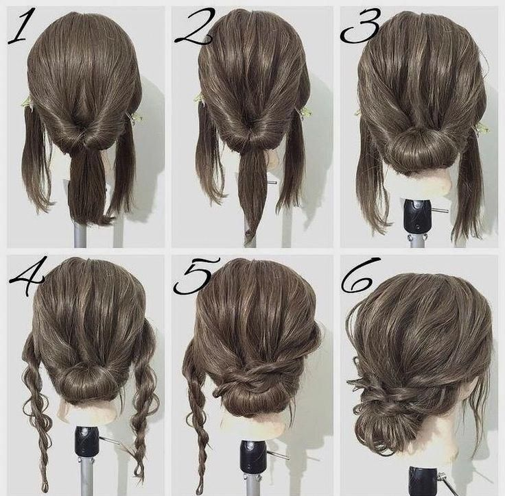 60 Easy Step By Step Hair Tutorials For Long Medium Short Hair Her Style Code Medium Length Hair Styles Long Hair Styles Short Hair Updo