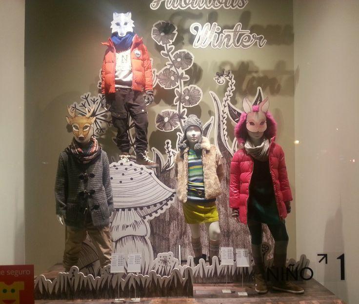 Escaparates de navidad visual merchandising pinterest - Como hacer un escaparate ...