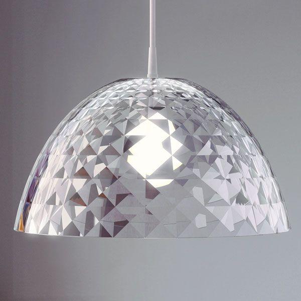 Koziol Stella M Hanging Lamp - Clear. 23.5 high. 43.5 wide. £79