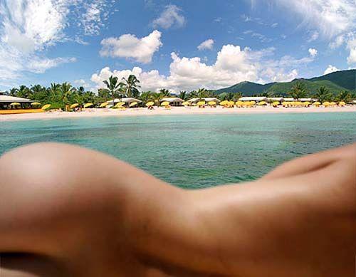 St lucia nude sunbathing
