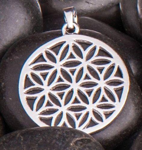 Blume des Lebens Anhänger Silber - Esoterik günstig kaufen online Symbol Schmuck #esoterikschmuck#blumedeslebens  http://ebay.to/2z0puGL