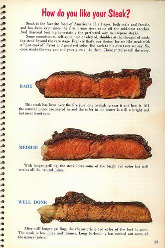 vintage steak ad