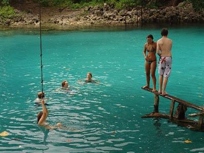 Port Vila Today: Blue Hole