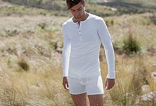 SCHIESSER Unterwäsche Simply the best because still in cotton rip. They feel awesome on the skin