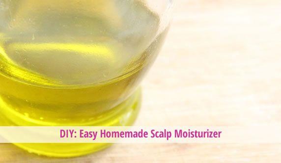 DIY: Easy Homemade Scalp Moisturizer - #hair #hairtreatments #haircare @Hair Treatments Talk