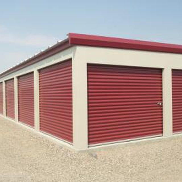 Self-storage facilities operate with only one or two small offices.