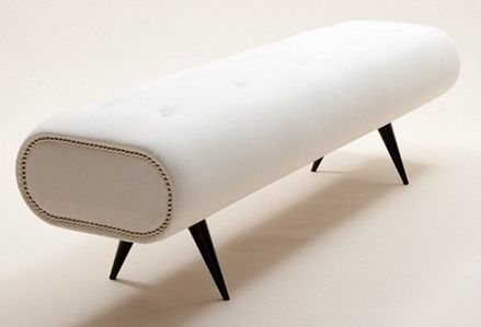 Draper Footstool - £816.00 - Hicks and Hicks