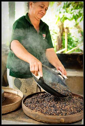Bali - Have a cup of coffee at Bali Pulina Agro Tourism coffee plantation