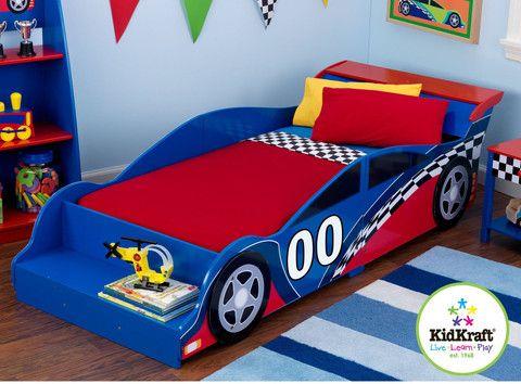 Cama de Auto de Carreras - bebe2go.com