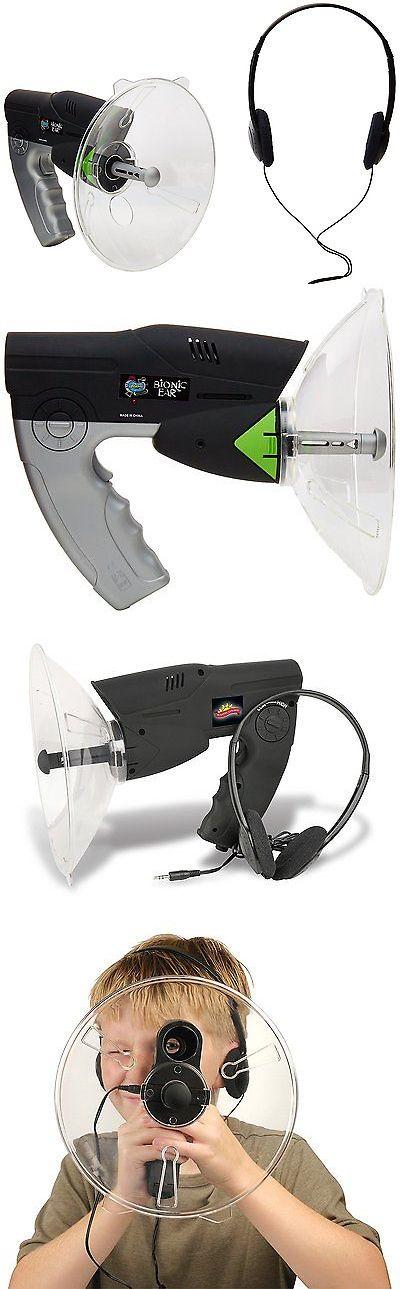 Surveillance Gadgets: Parabolic Microphone Spy Listening Device Bionic Ear Sound Amplifier Gadget 300M BUY IT NOW ONLY: $47.31