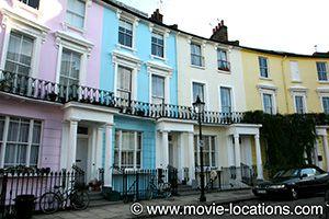 Paddington filming location: Chalcot Crescent, Primrose Hill, London
