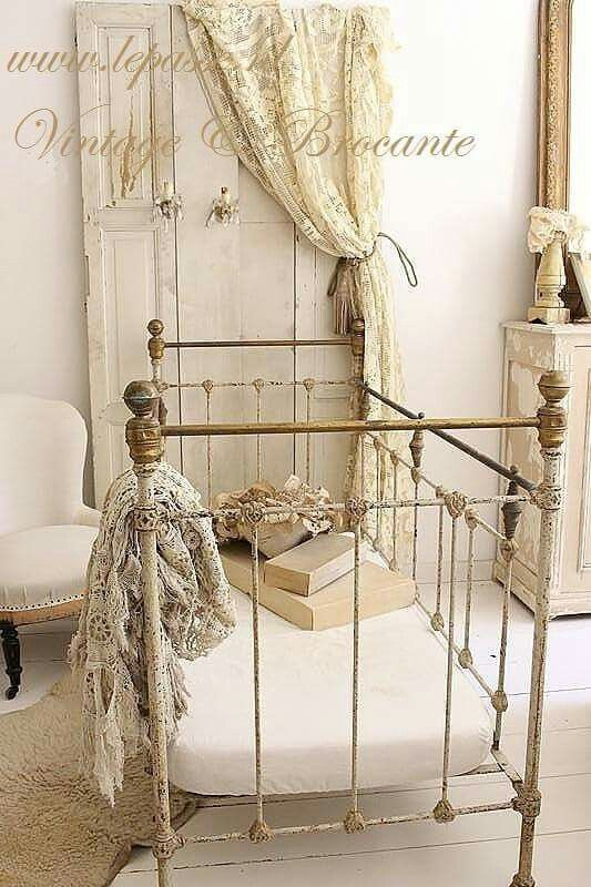 Absolutely lovely, however, that crib should NEVER be used for a real baby. Unfortunately it would be a death trap because of the space between the bars. Great way to stage a doll collection!