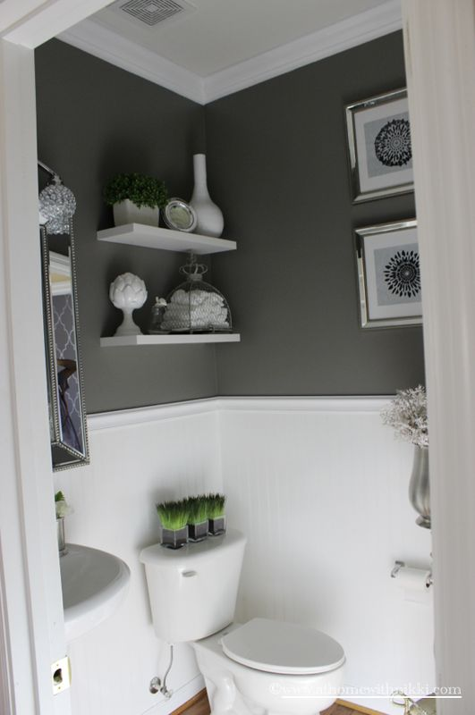 Our Home Tour At Home With Nikki Dream Home Pinterest Powder Room Konmari And Organize Room