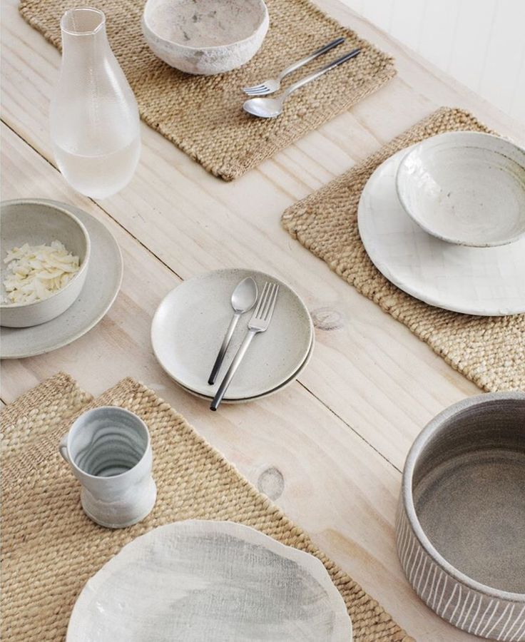 Willow Weave Placemats | armadillo-co.com