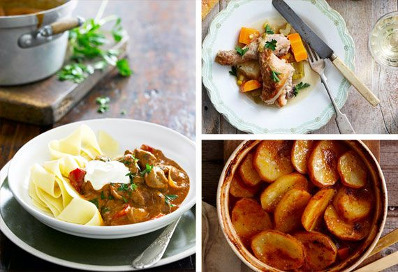 Whether you're trying to get rid of leftovers, are tight on cash or just looking for some hearty comfort food, slow-cooking is the answer.The best part is it's a low-fuss way to get dinner on the table. Simply throw your ingredients in the pot and let it do all the work for you.We've rounded up the most mouth-watering casseroles and stews for every taste.