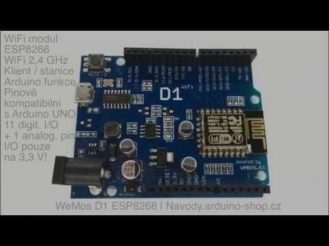 ESP8266 ESP-12E OTA WeMos D1 CH340 WiFi Arduino IDE UNO R3