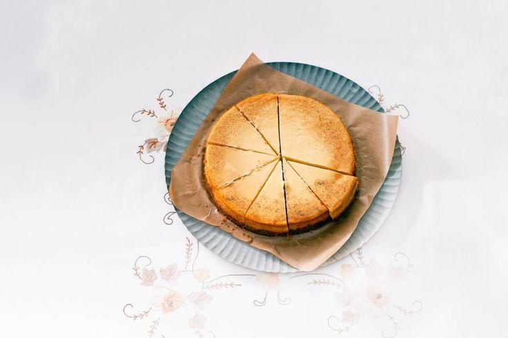 Kijk wat een lekker recept ik heb gevonden op Allerhande! New York cheesecake