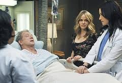 Grey's Anatomy - Chandra Wilson (Dr. Miranda Bailey) , Jeff Perry (Thatcher Grey) , Alexa Havins (Danielle) , Chyler Leigh (Dr. Lexie Grey)